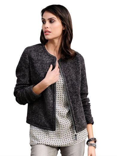 Alba Moda Jacke aus hochwertiger Kochwollqualität