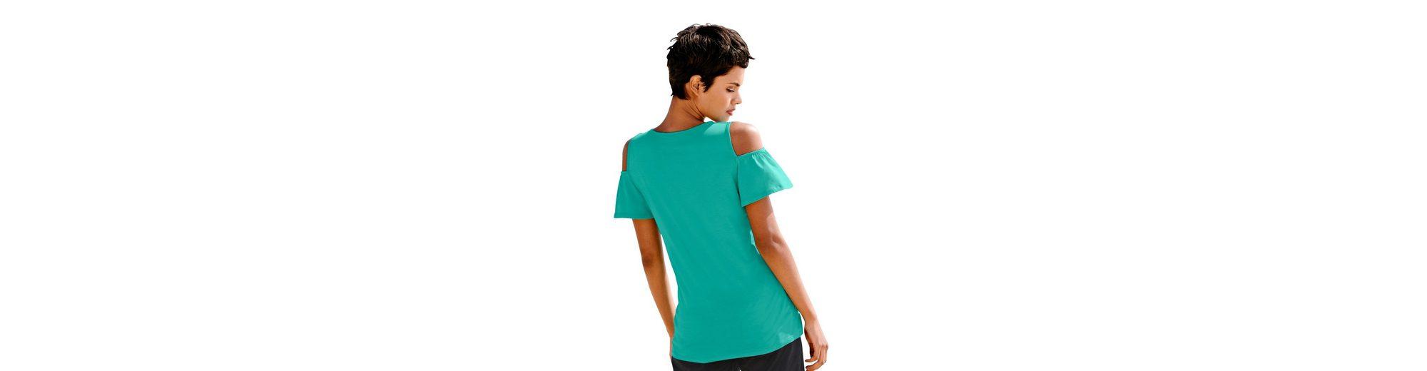 Alba Moda Strandshirt im Offshoulderstyle Zu Verkaufen g84qbk