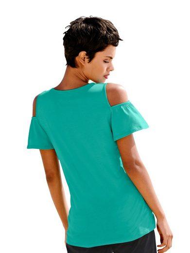 Alba Moda Strandshirt im Offshoulderstyle