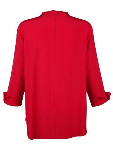 Alba Moda Bluse in weich fließender Oversized Form