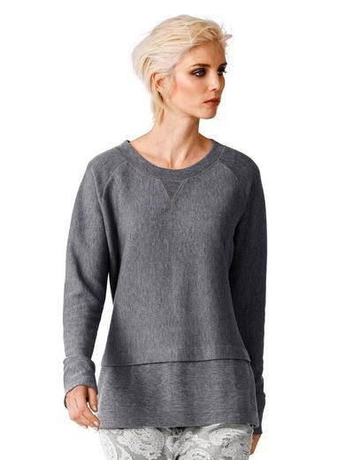 Alba Moda Pullover in Mélangeoptik