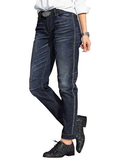 Alba Moda Jeans mit Strassblende