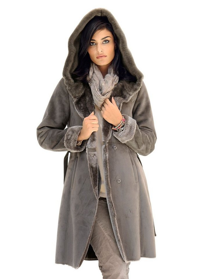 Alba Moda Mantel in Veloursoptik online kaufen   OTTO 45d1ab3ff5