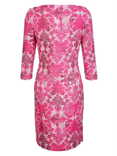 Robe Alba Moda Imprimée En Exclusivité Alba Moda Print