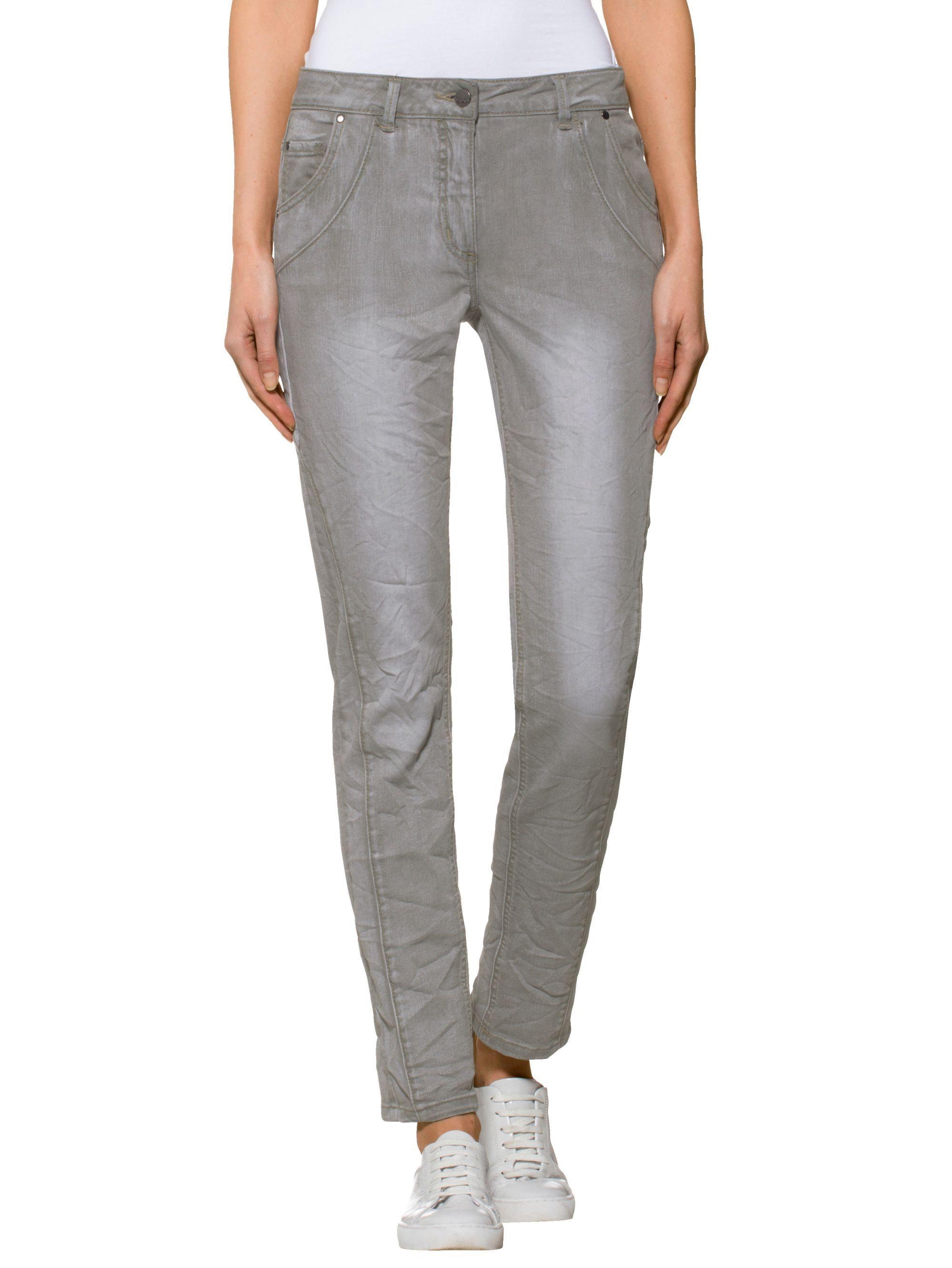 Sportiven Jeans Moda Mit Alba Teilungsnähten 534RLAcjq