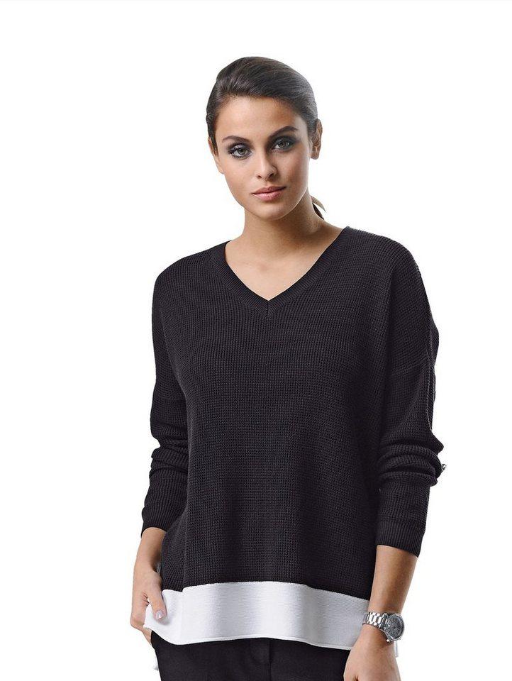 alba moda pullover in aufwendiger strickart kaufen otto. Black Bedroom Furniture Sets. Home Design Ideas