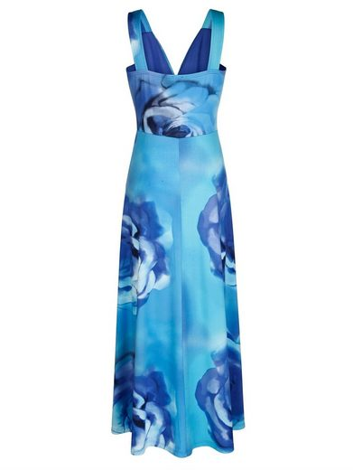 Alba Moda Beach Dress With Large Floral Print