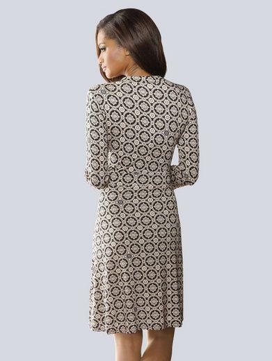 Alba Moda Druckkleid in softer Viskosequalität