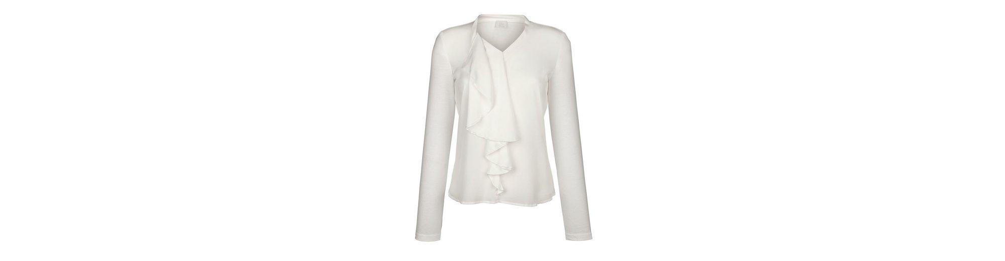 Billige Sneakernews Heißen Verkauf Online Alba Moda Shirt aus schönem Materialmix Freies Verschiffen Angebote Billig Freies Verschiffen QVK5z0pO