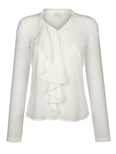 Alba Moda Shirt aus schönem Materialmix