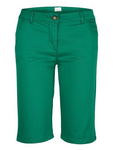 Alba Moda Bermuda-Shorts mit Krempelsaum