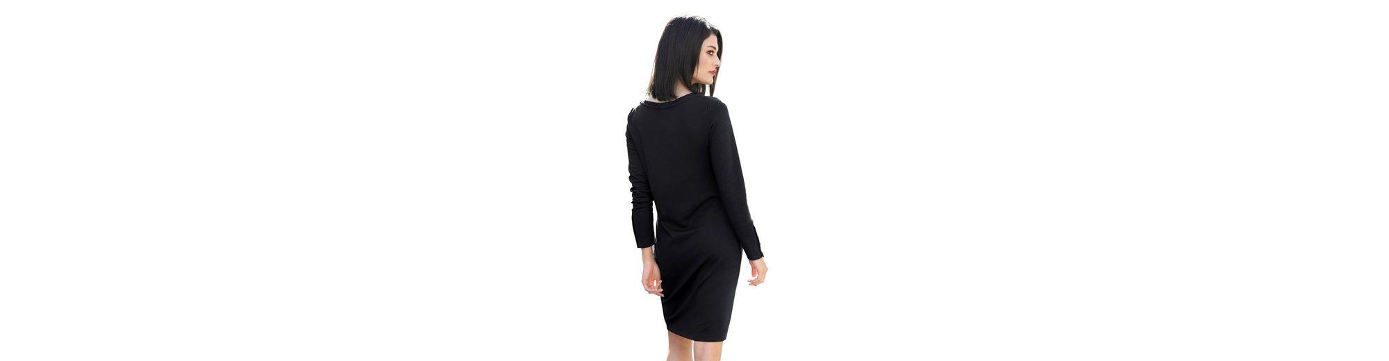 Sehr Billig Verkauf Online Bekommen Alba Moda Kleid mit goldfarbenen Schmuckknöpfen Geniue Händler Zum Verkauf Verkauf Authentisch Visa-Zahlung OM0VUL