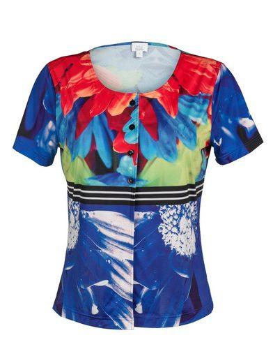 Alba Moda Strandshirt Shirt in Blusenform