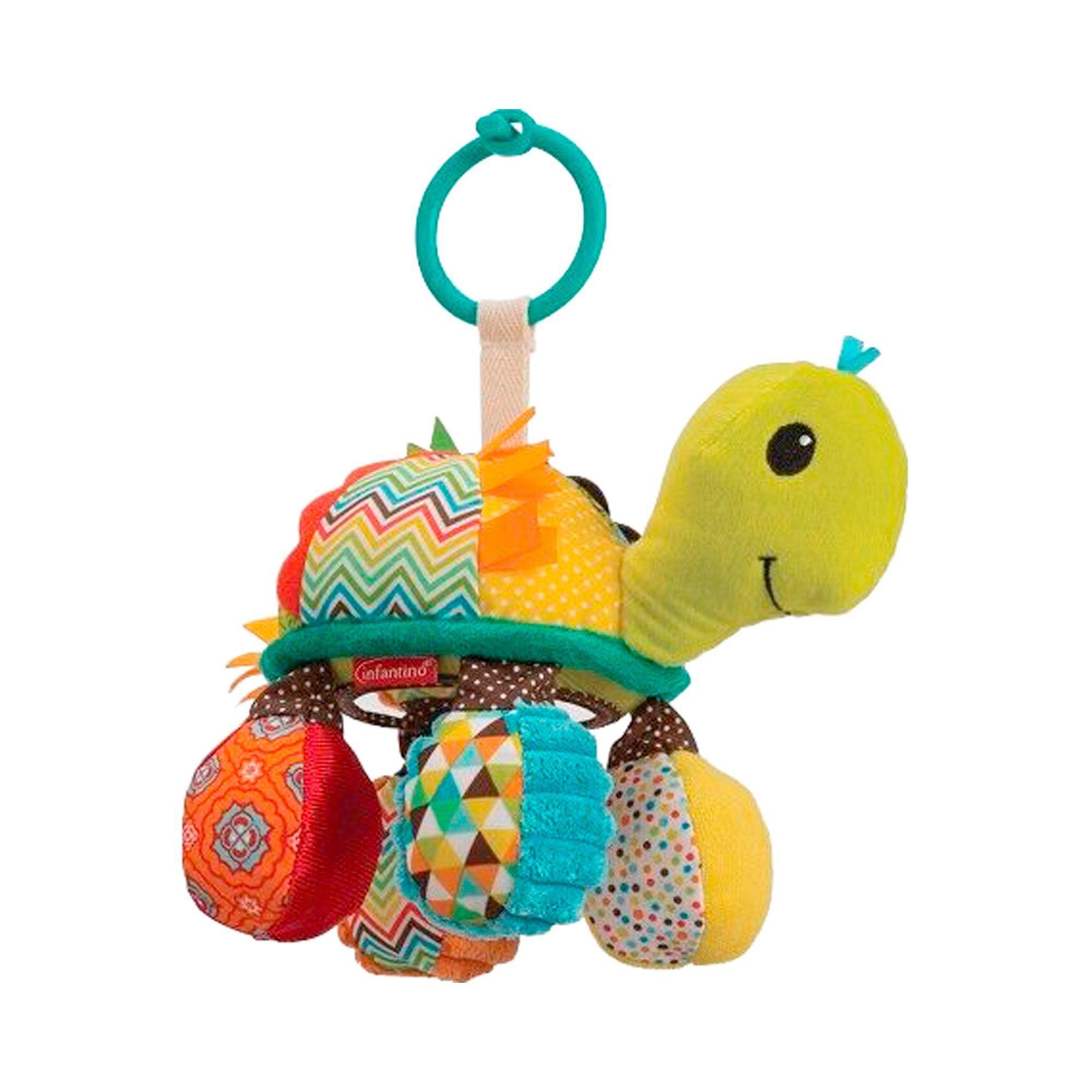 INFANTINO Hänge-Spielzeug Schildkröte Go gaga