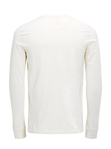 Jack & Jones Slub- T-shirt With Long Sleeves