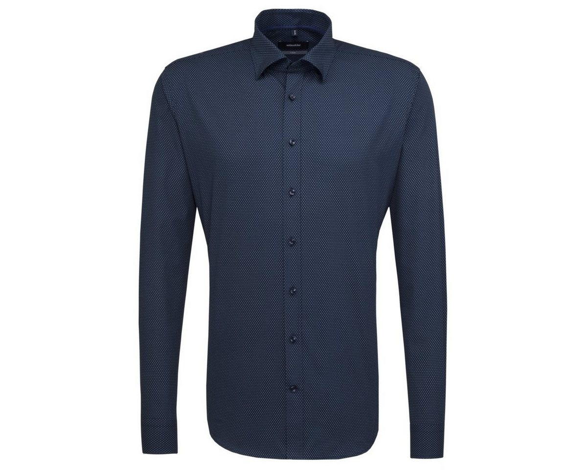 seidensticker Businesshemd »X-Slim« Covered-Button-Down-Kragen