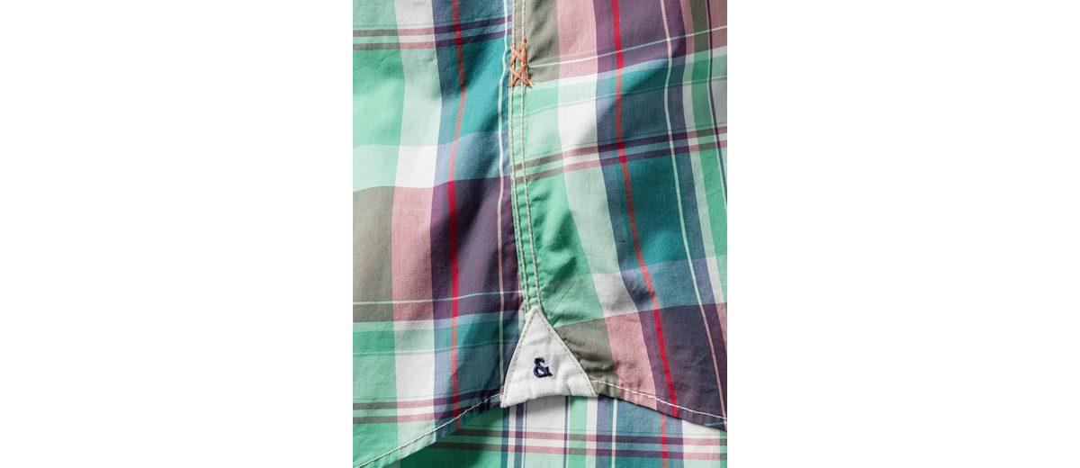 colours & sons Halbarm-Karohemd Rabatt Top-Qualität Outlet Billige Qualität Auslass Klassisch Verkauf Neueste Outlet-Store Günstiger Preis xoJrIbQHR