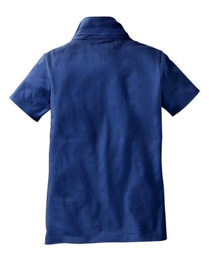 IN LINEA Poloshirt mit Bubikragen