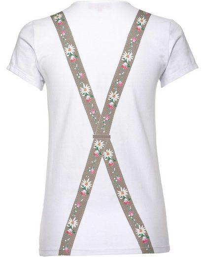 Krüger Madl T-Shirt Suspender Girl