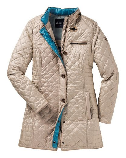 Schneiders Country Style Quilted Jacket Long Irissa