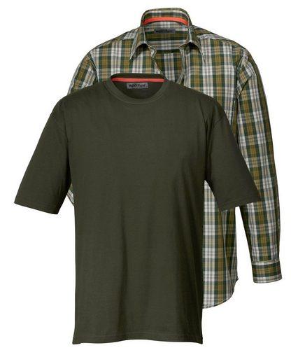 Wald & Forst Shirt-Hemd-Set