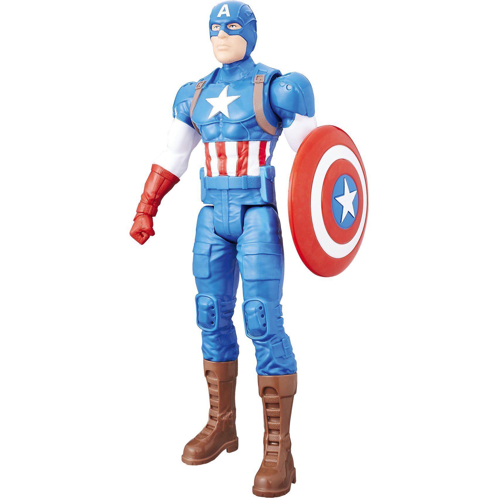 Hasbro Avengers Titan Hero Figur Captain America
