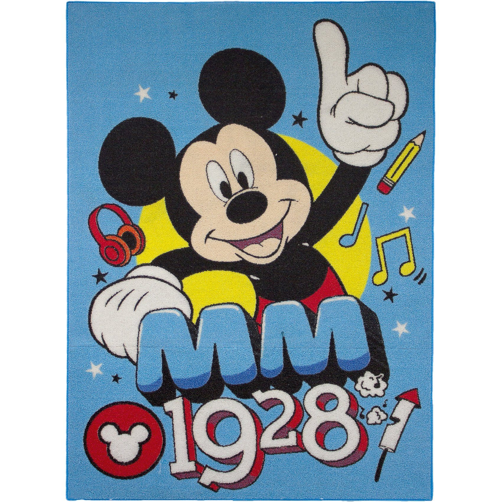 Kinderteppich Mickey MM 1928, 95 x 133 cm