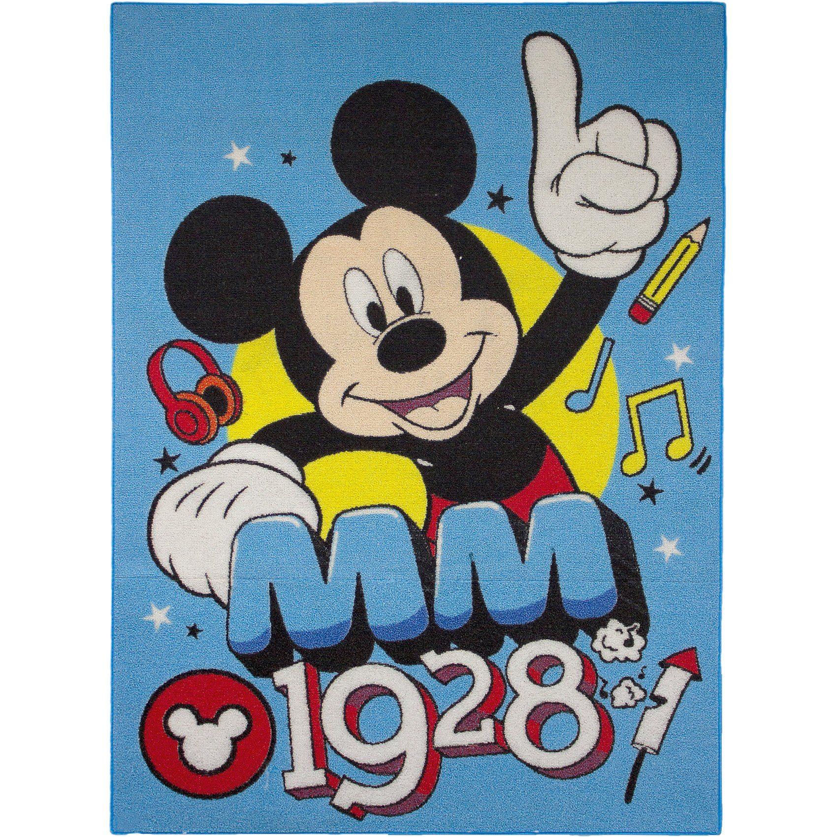 Kinderteppich Mickey MM 1928, 95 x 133 cm