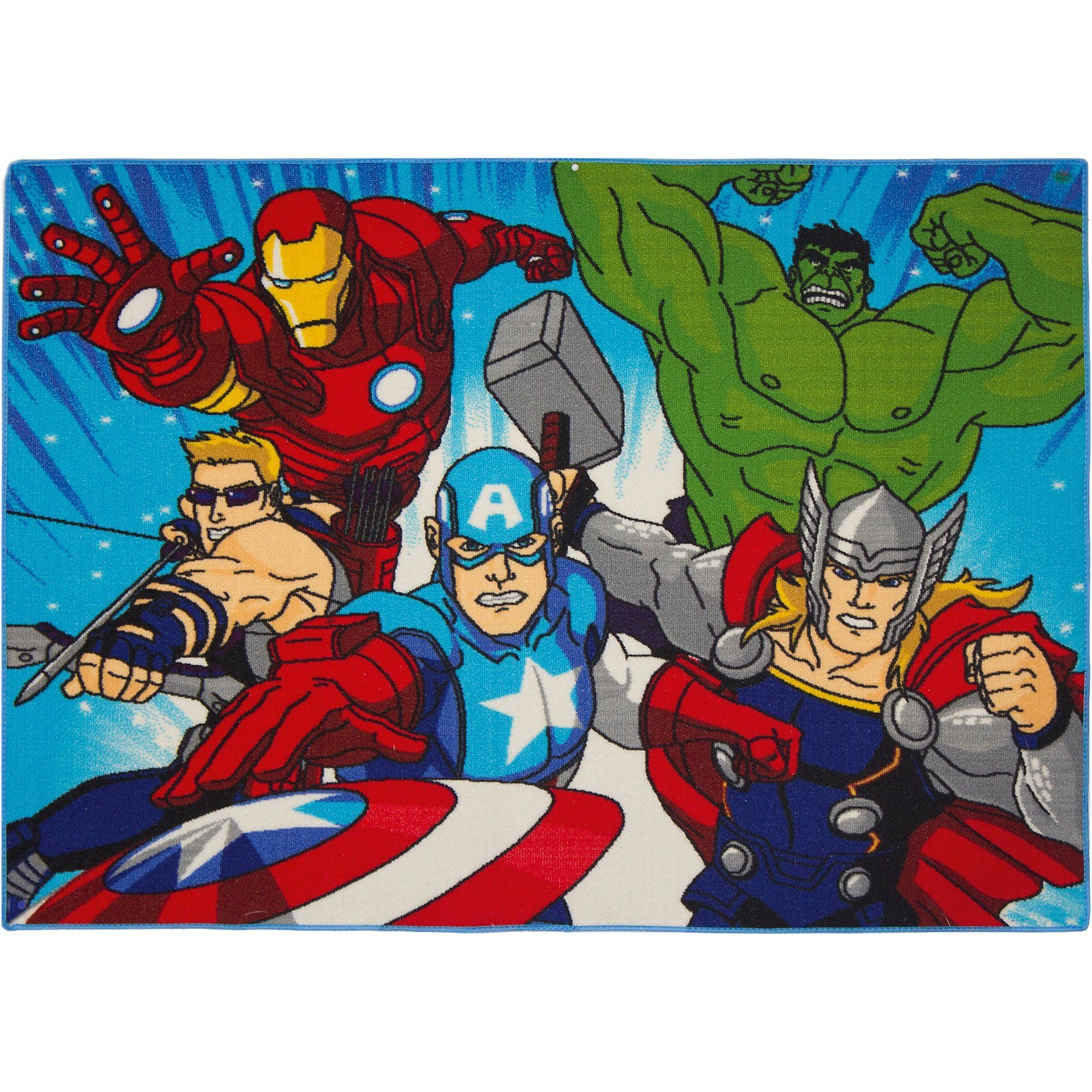 Kinderteppich Avengers Action, 95 x 133 cm