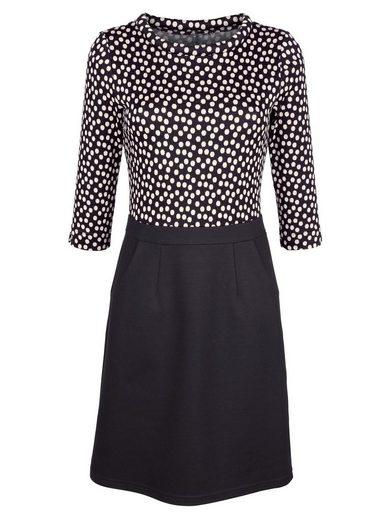 Alba Moda Kleid in schönem Jaquard-Strick