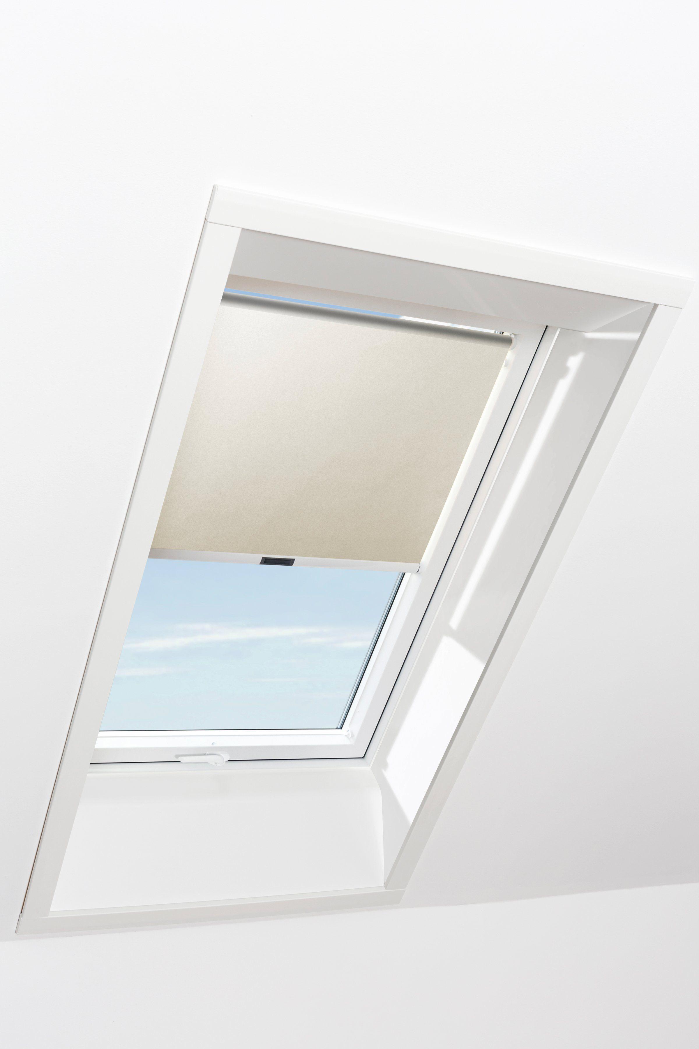 RORO Sichtschutzrollo »Typ SIRB711«, BxL: 74x118 cm, beige