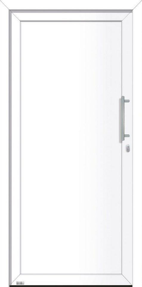 Haustür Weiß roro aluminium haustür irland bxh 98x198 cm weiß anschlag