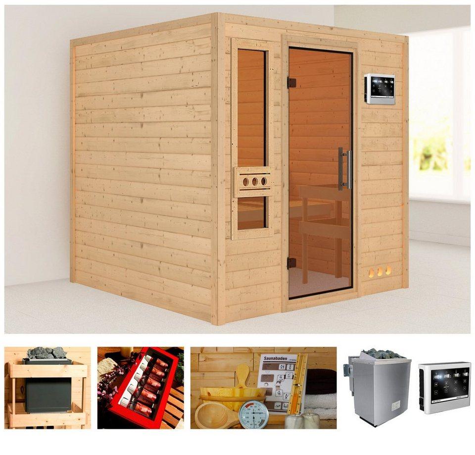 konifera sauna zagora 224 210 191 cm 38 mm 9 kw bio. Black Bedroom Furniture Sets. Home Design Ideas