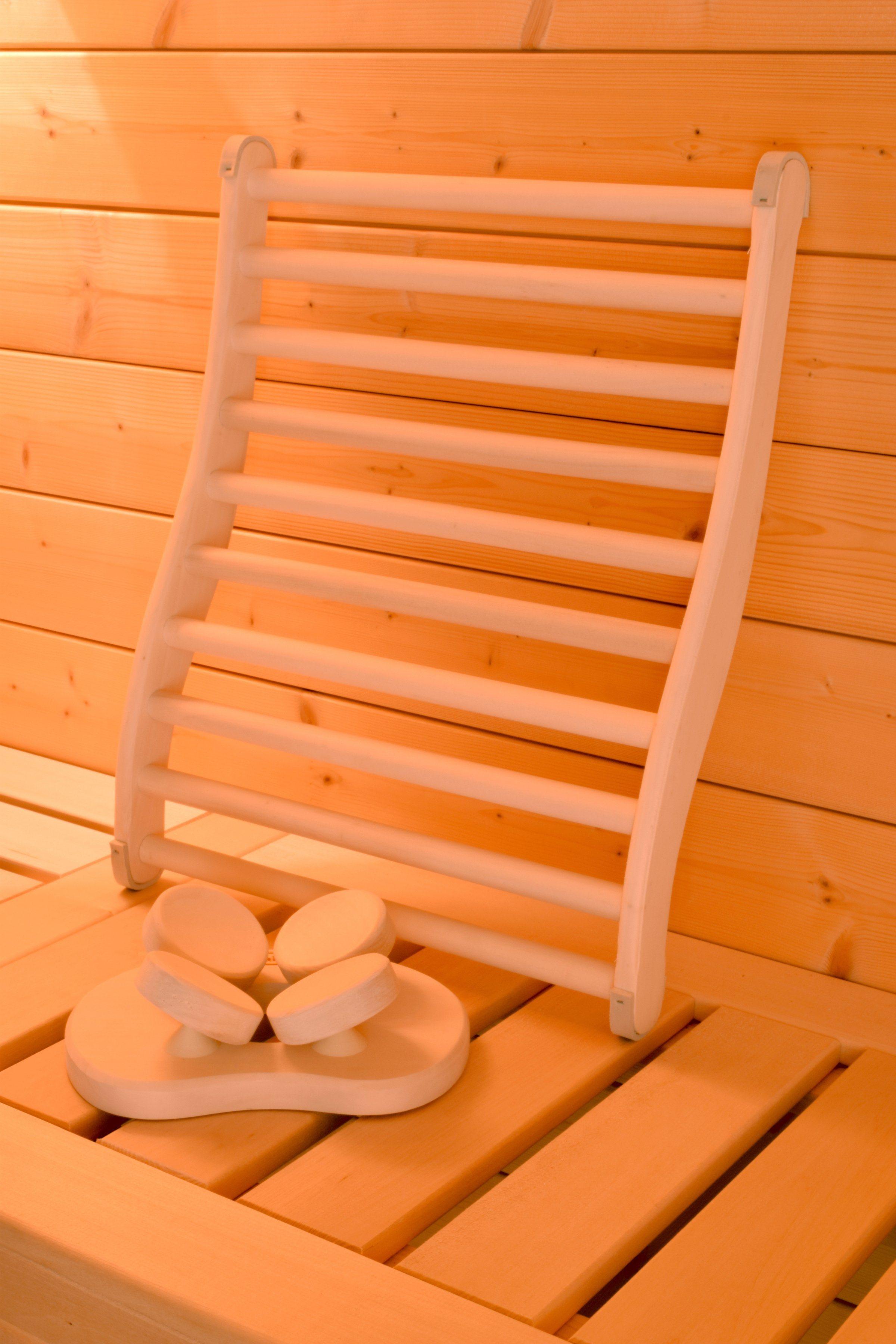 WEKA Sauna-Wellness-Set »Natur«, Lenden- und Kopfstütze, 3-tlg. | Bad > Sauna & Zubehör > Sauna-Zubehör | weka