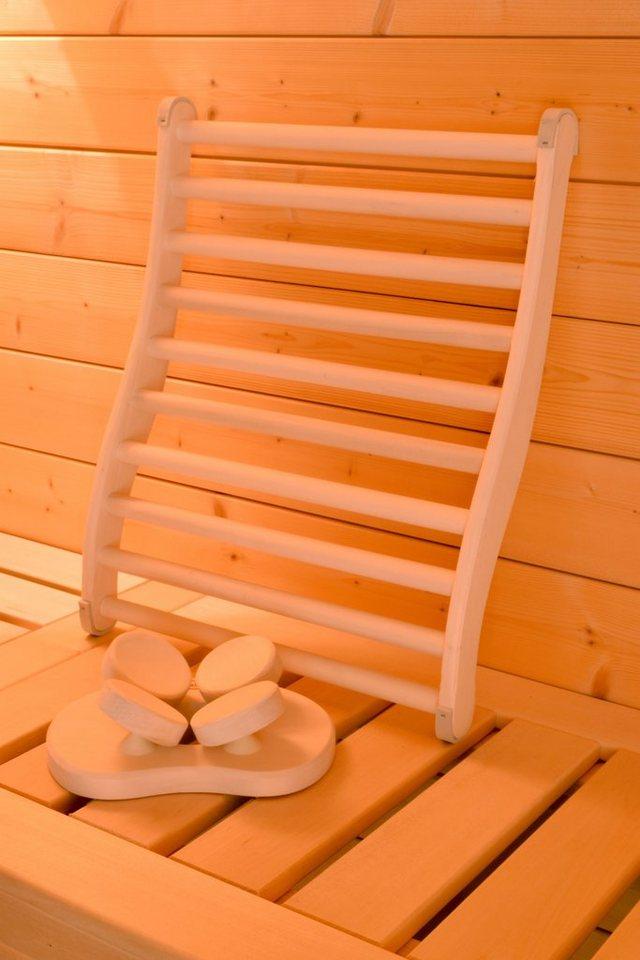 WEKA Sauna-Wellness-Set »Natur«, Lenden- und Kopfstütze, 3-tlg.   Bad > Sauna & Zubehör > Sauna-Zubehör   weka
