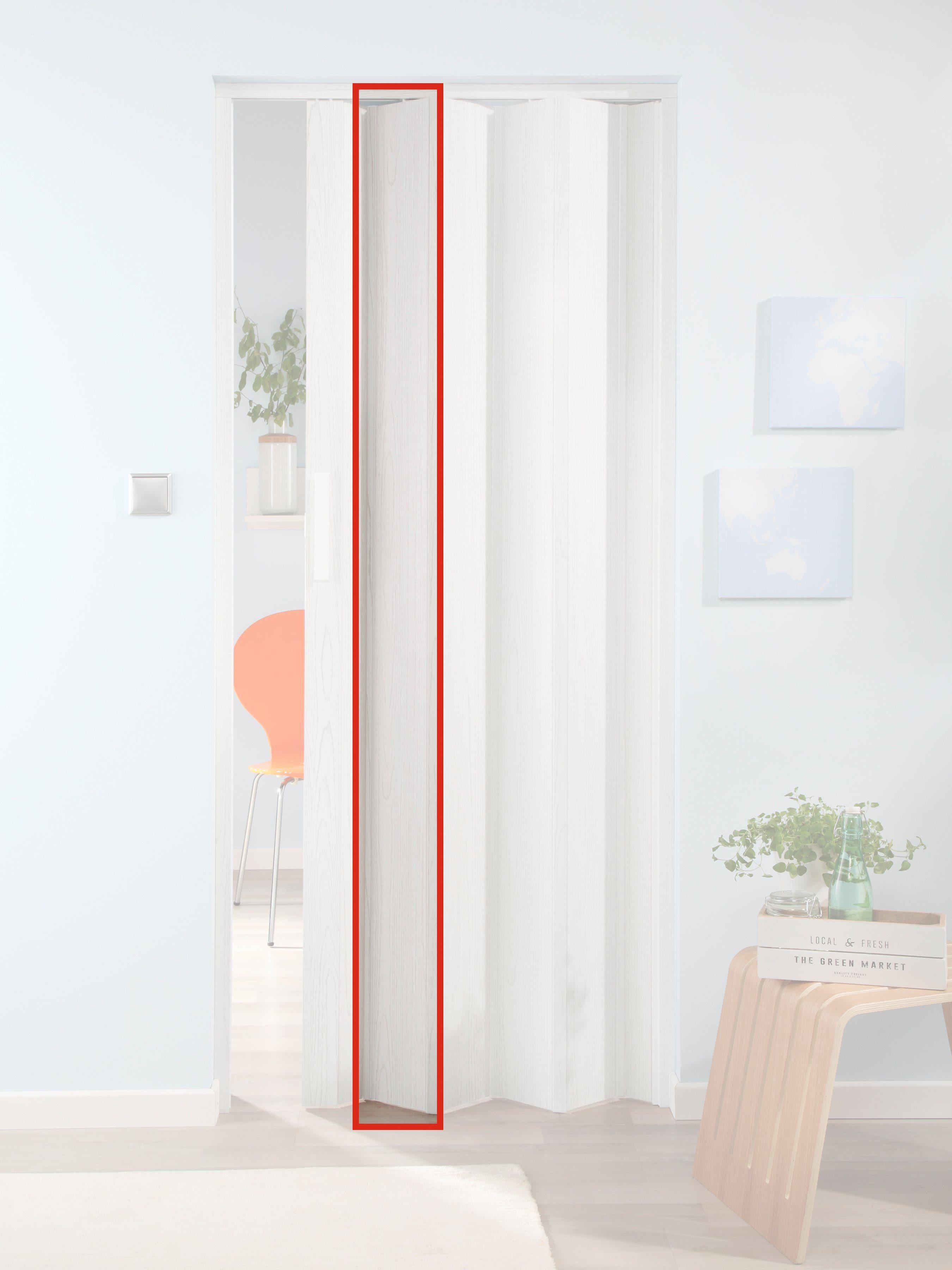 FORTE Türerweiterung , Zusatzlamelle für Falttür »Luciana«, eiche weiß