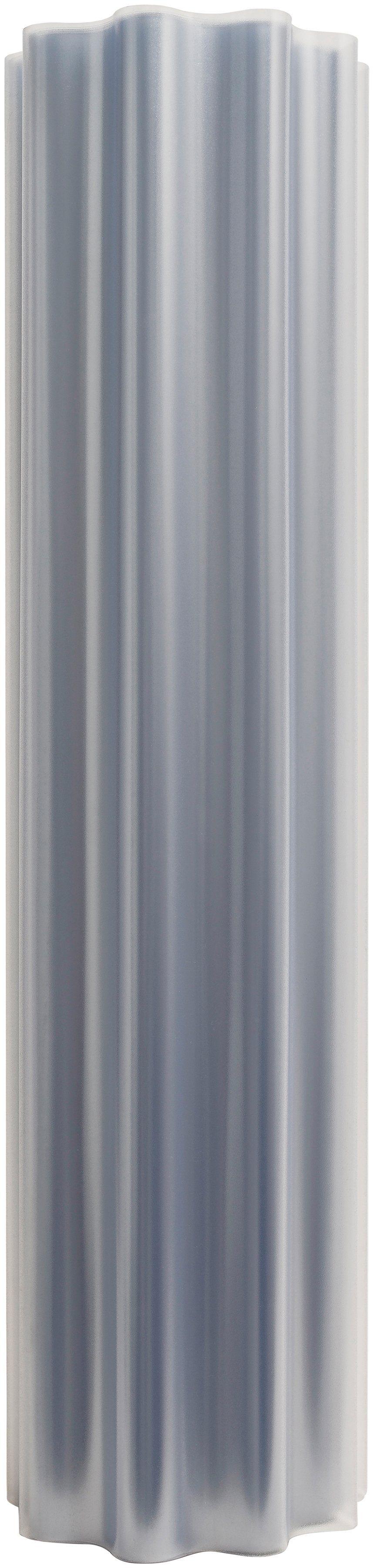 Wellplatte »Rolle HRM sinus«, mattiert, 10 m², inkl. Befestigung