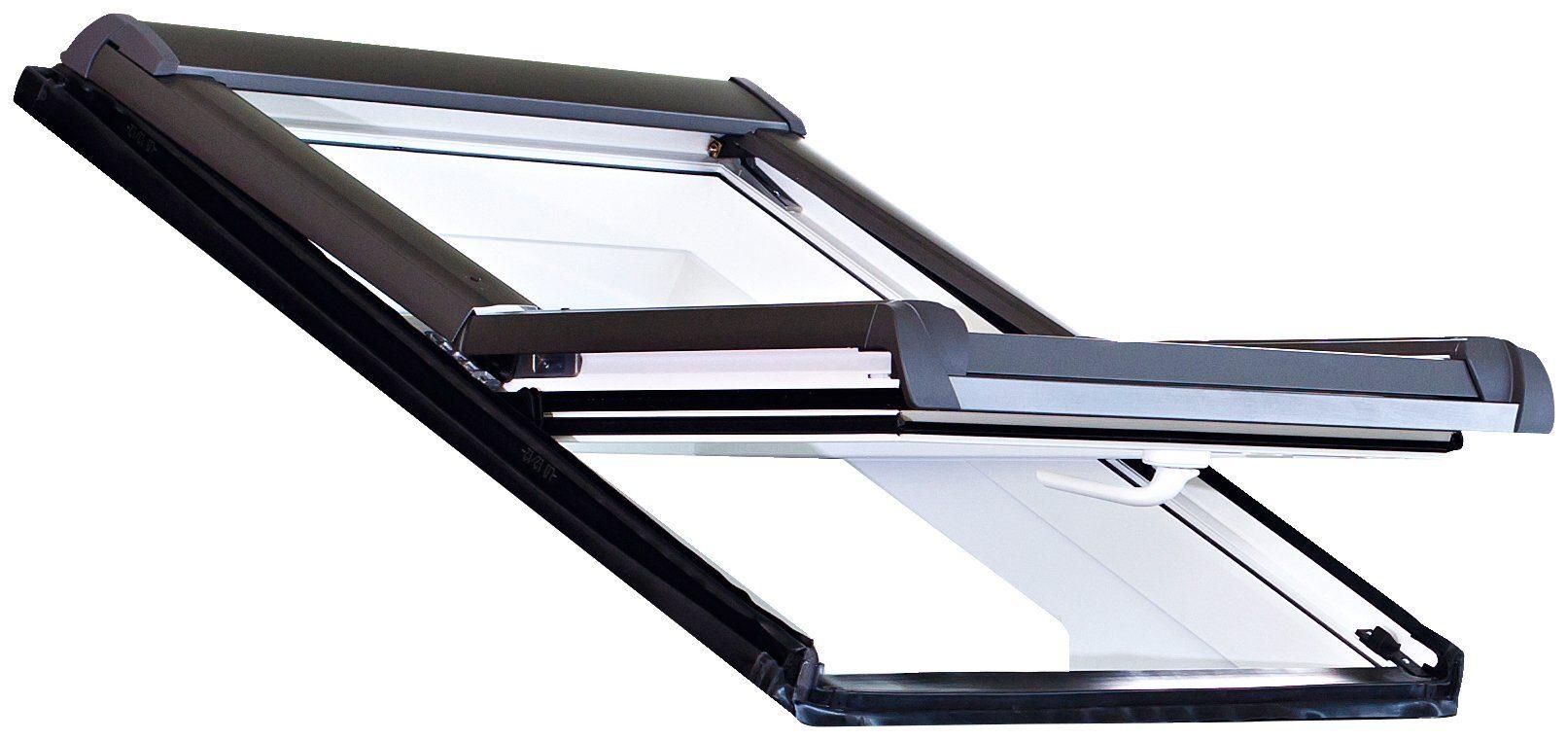 RORO Dachfenster »Typ DKE202«, BxH: 65x118 cm, weiß
