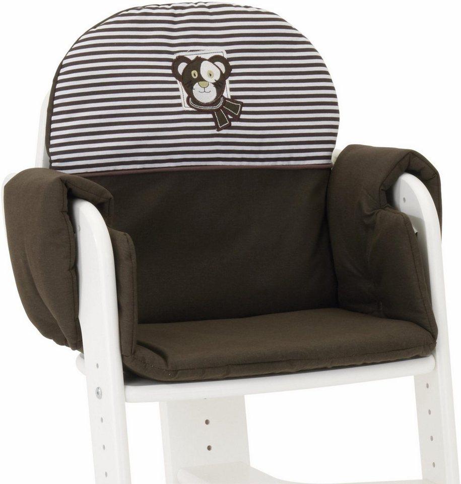 herlag sitzpolster f r hochstuhl tipp topp iv braun online kaufen otto. Black Bedroom Furniture Sets. Home Design Ideas
