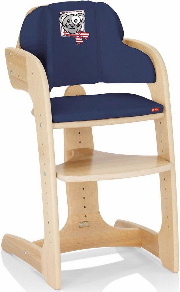 herlag sitzpolster f r hochstuhl tipp topp comfort iv marine online kaufen otto. Black Bedroom Furniture Sets. Home Design Ideas