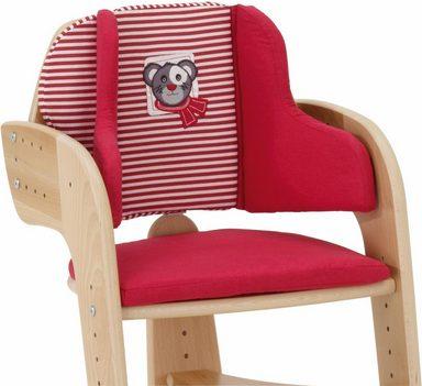 herlag sitzpolster f r hochstuhl tipp topp comfort iv rot online kaufen otto. Black Bedroom Furniture Sets. Home Design Ideas