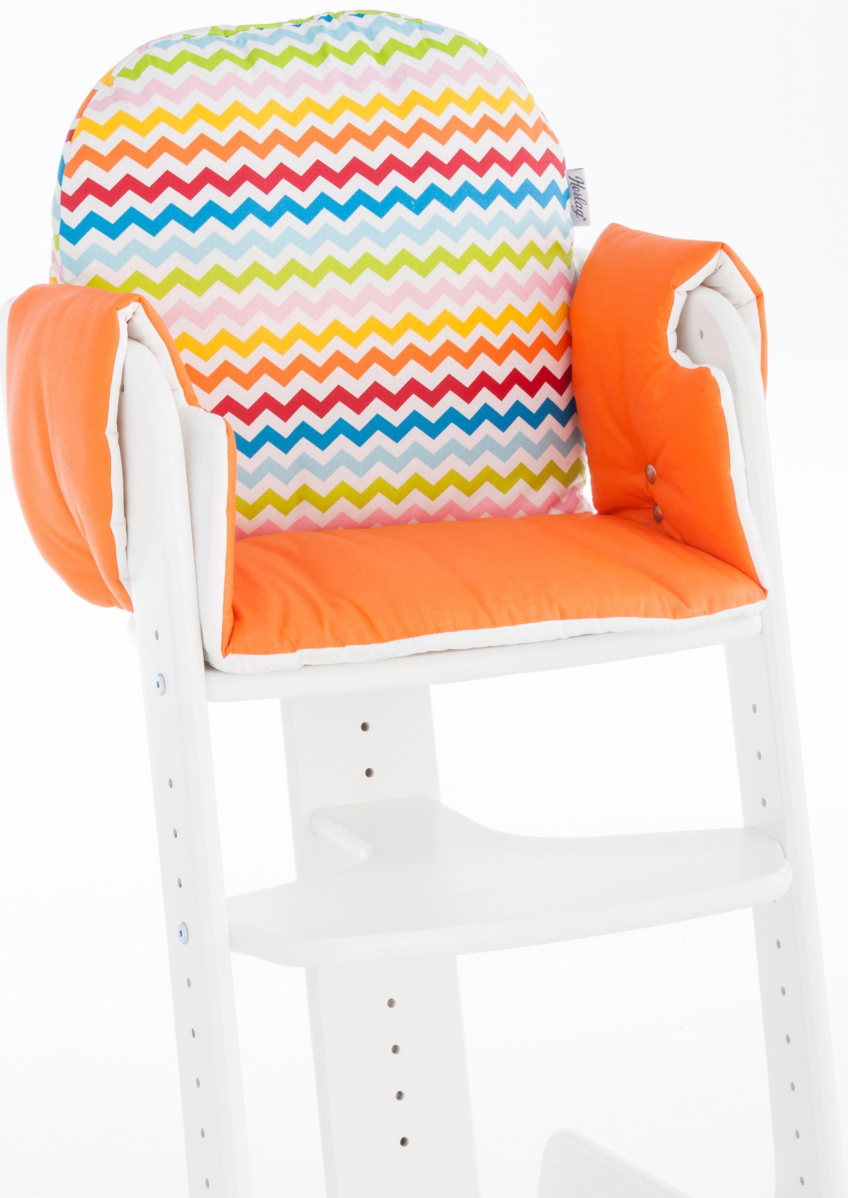 Herlag® Sitzpolster für Hochstuhl Tipp Topp IV, »orange«