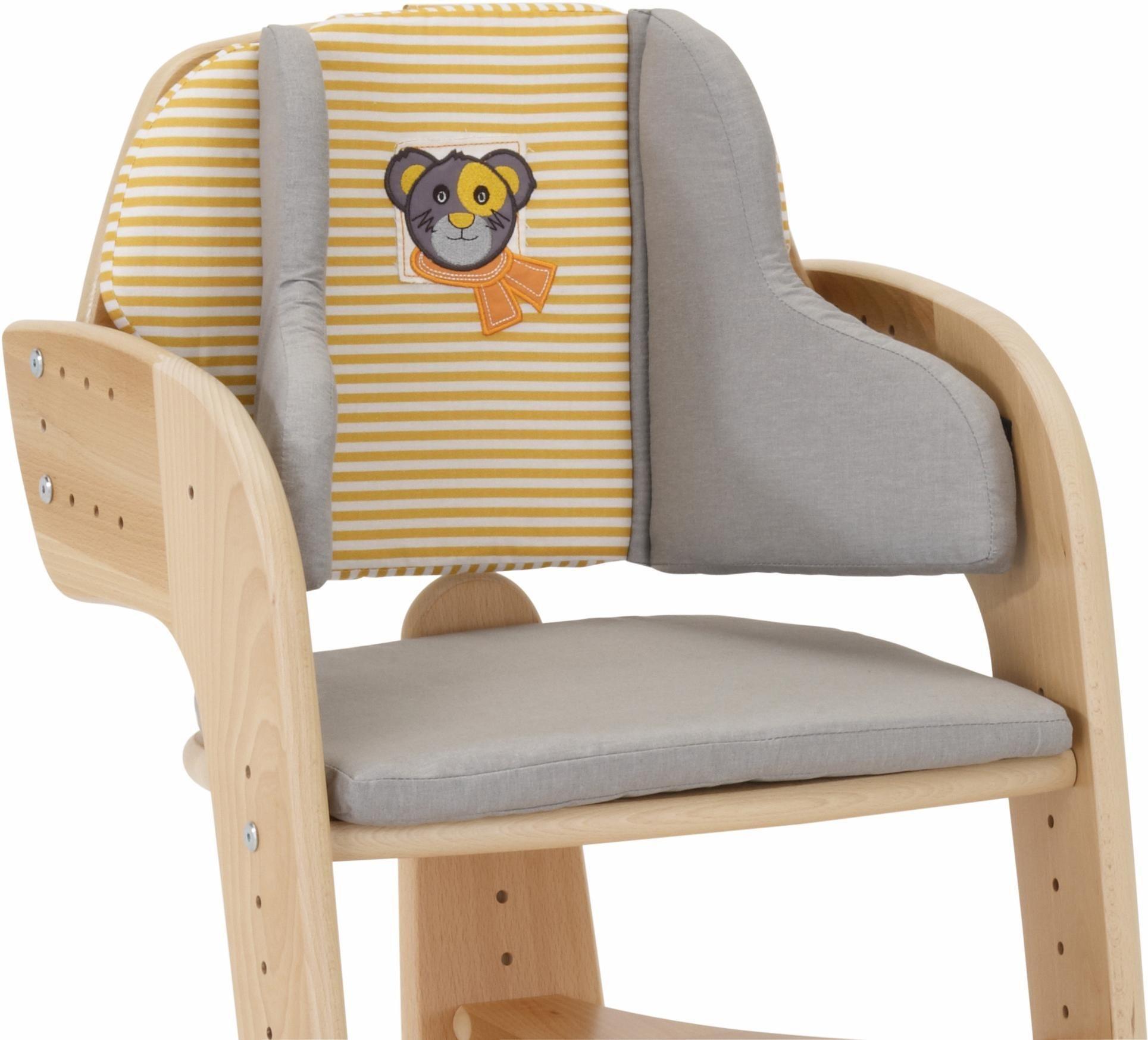 Herlag® Sitzpolster für Hochstuhl Tipp Topp Comfort IV, »grau«   Kinderzimmer > Kinderzimmerstühle > Hochstühle   Herlag