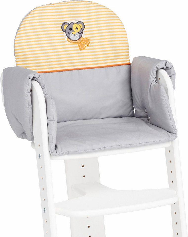 herlag sitzpolster f r hochstuhl tipp topp iv grau online kaufen otto. Black Bedroom Furniture Sets. Home Design Ideas