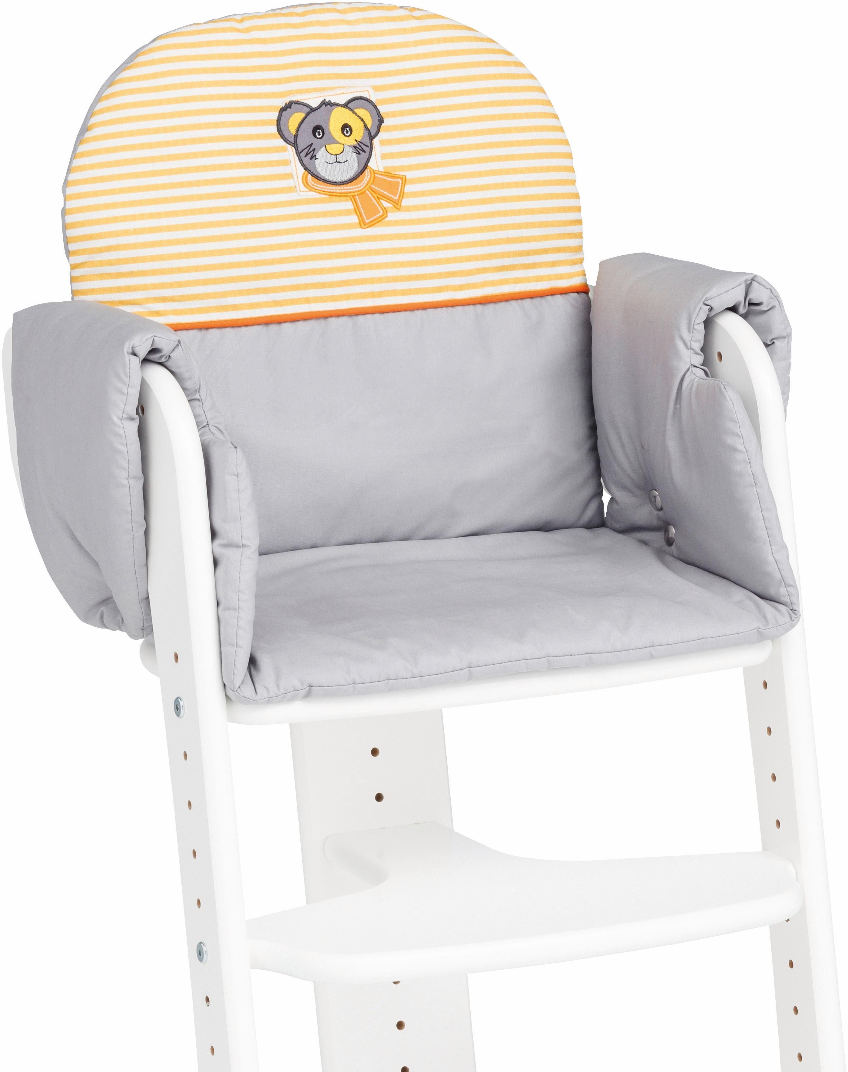 Herlag® Sitzpolster für Hochstuhl Tipp Topp IV, »grau«