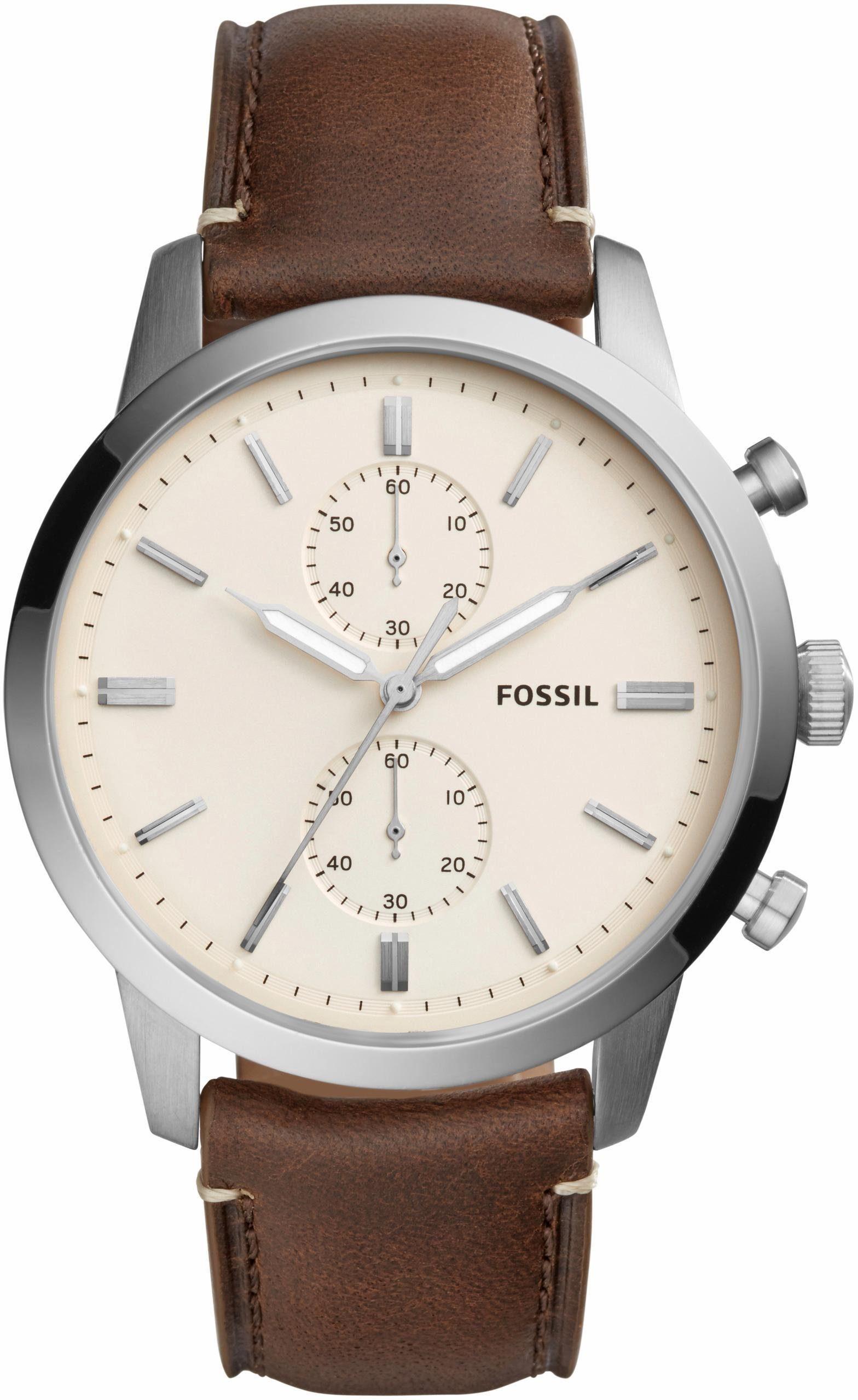 Fossil Chronograph »44 MM TOWNSMAN, FS5350«