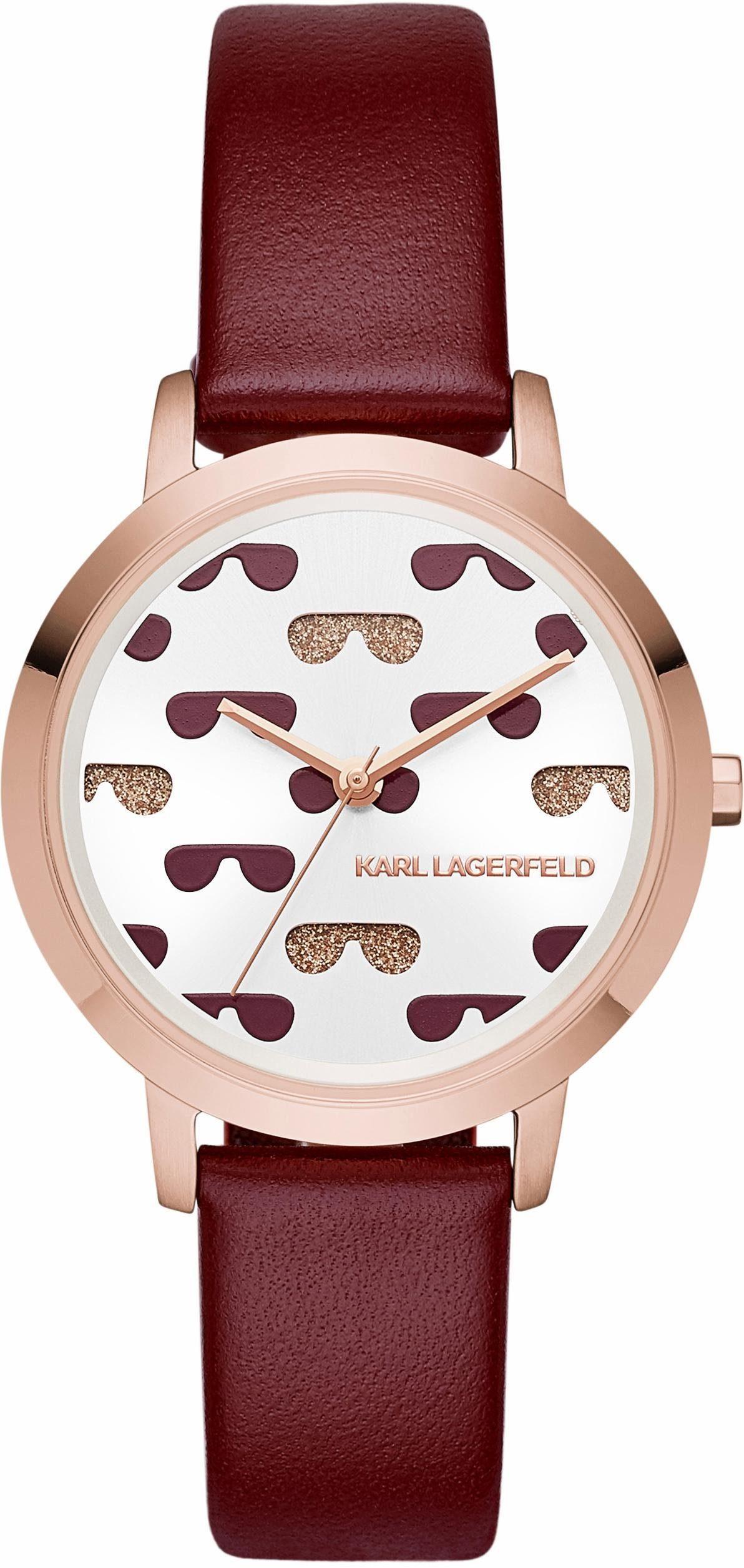 KARL LAGERFELD Quarzuhr »CAMILLE, KL2230«
