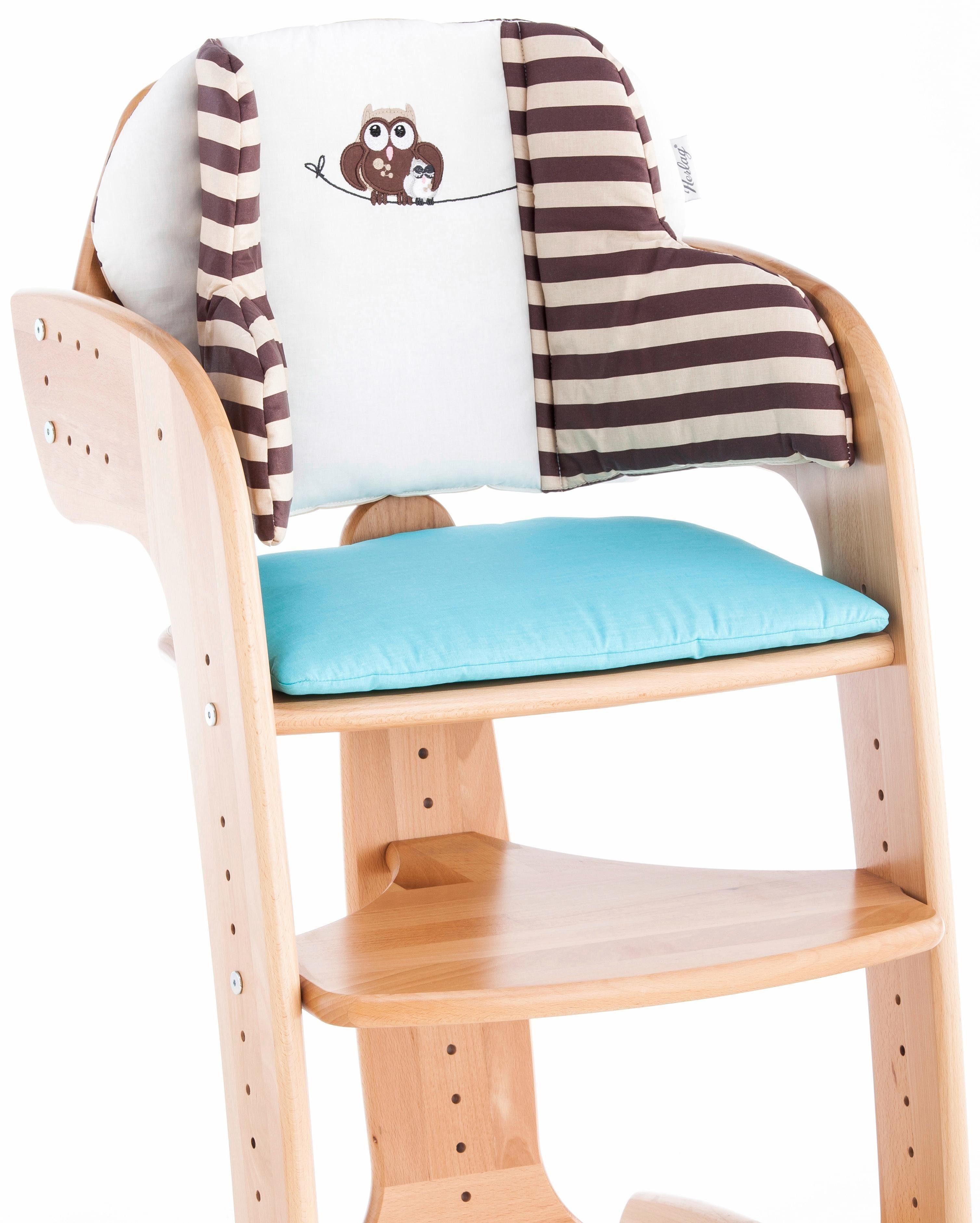Herlag® Sitzpolster für Hochstuhl Tipp Topp Comfort IV, »Eule«