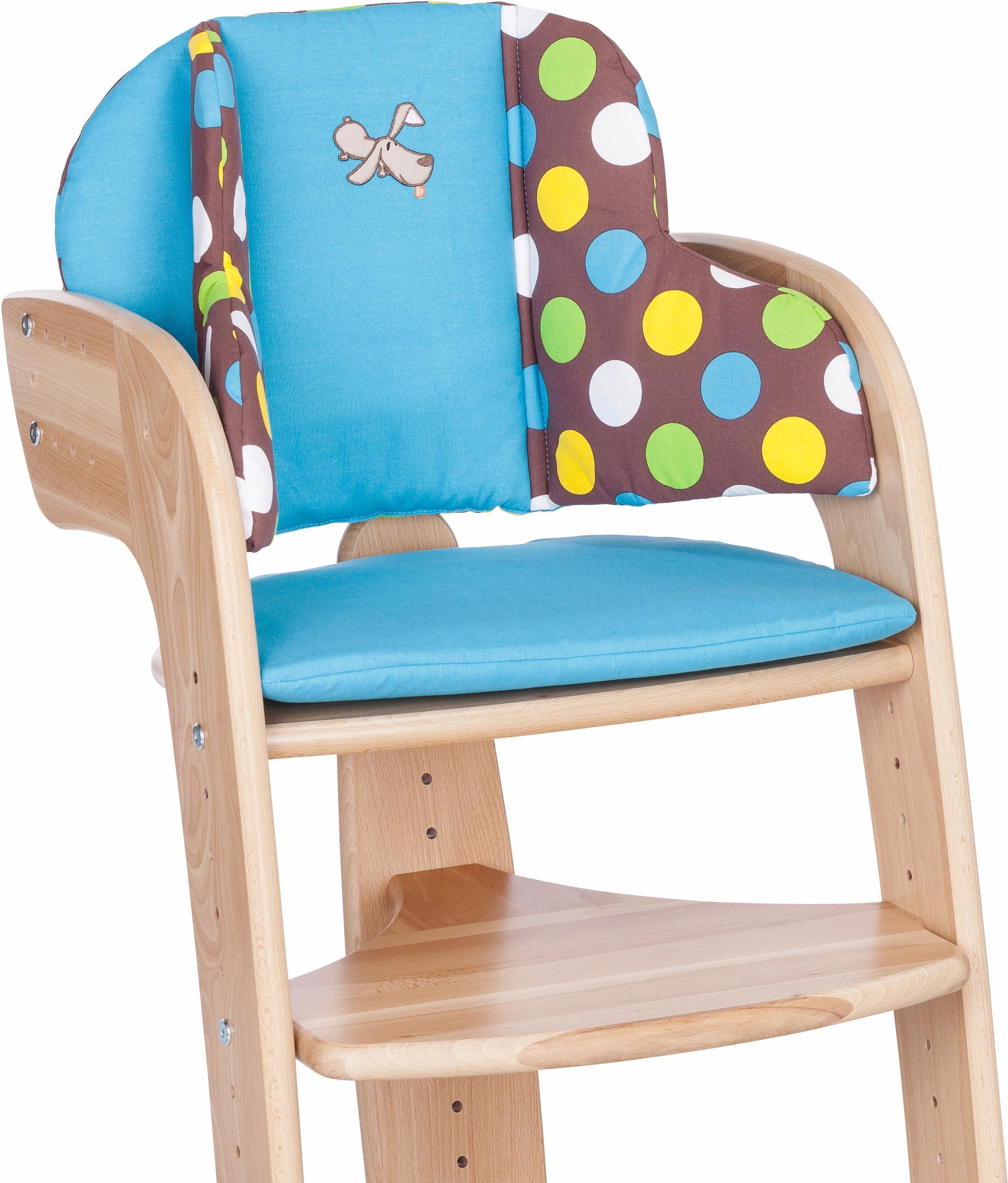 Herlag® Sitzpolster für Hochstuhl Tipp Topp Comfort IV, »Waldi«