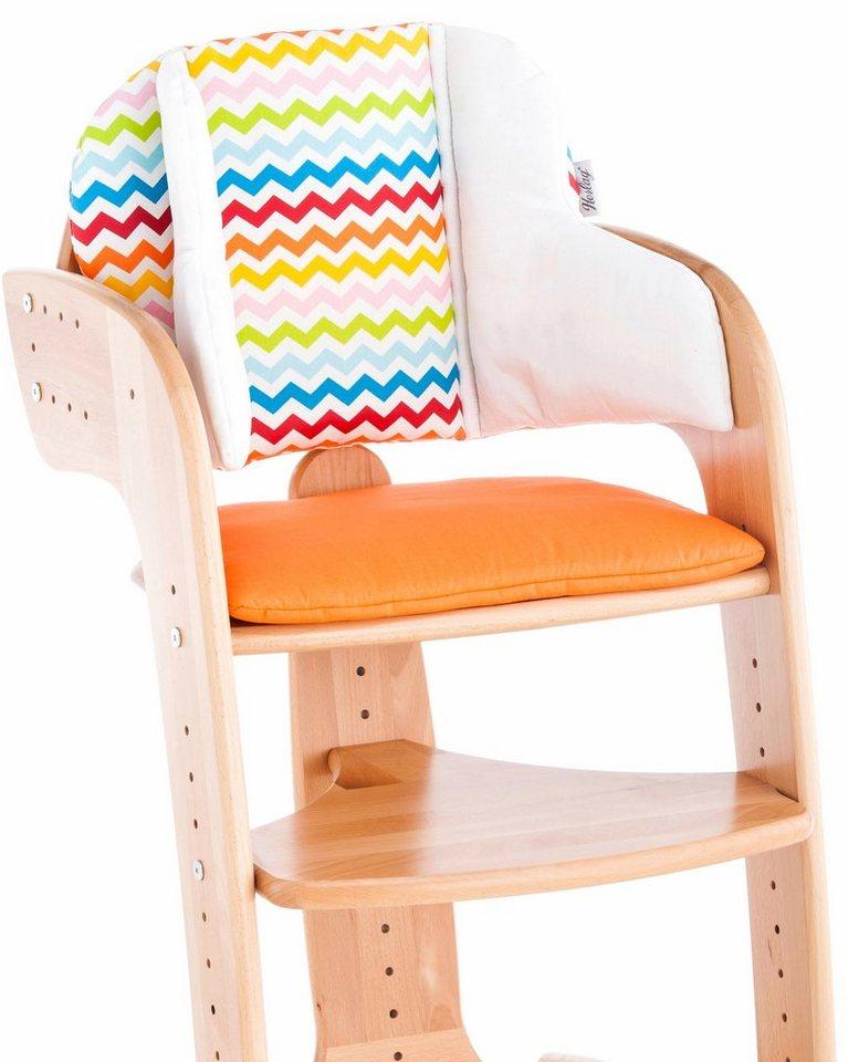 herlag sitzpolster f r hochstuhl tipp topp comfort iv orange online kaufen otto. Black Bedroom Furniture Sets. Home Design Ideas